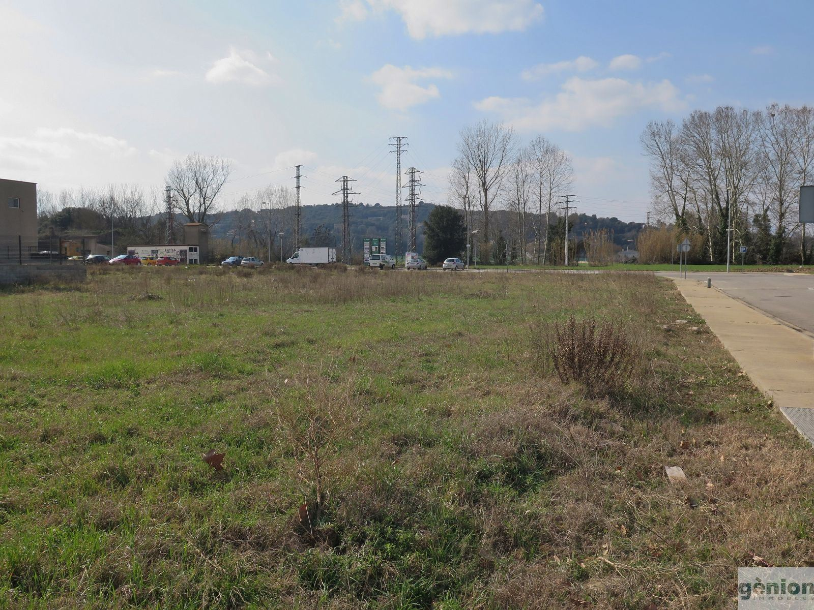 INDUSTRIAL PLOT BESIDE GIRONA. 2.167,58M², IN THE ESTATE OF MONTFULLÀ